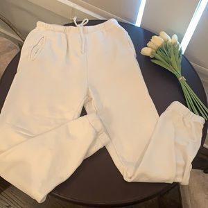 Off White French Terry Joah Brown Empire Jogger